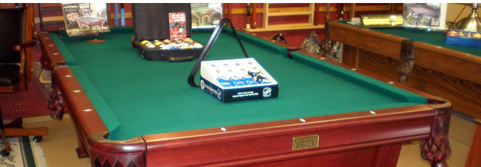 high-quality billiard tables and supplies